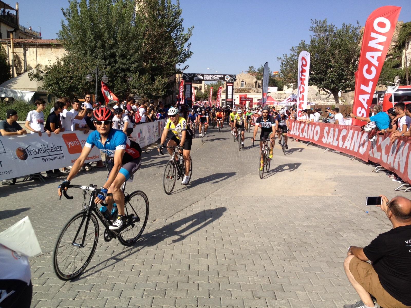 Yarış başlangıcından hemen sonra Derya