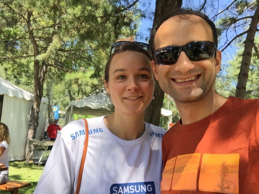 Virginie ve Kerem boğaz geçiş yarışında